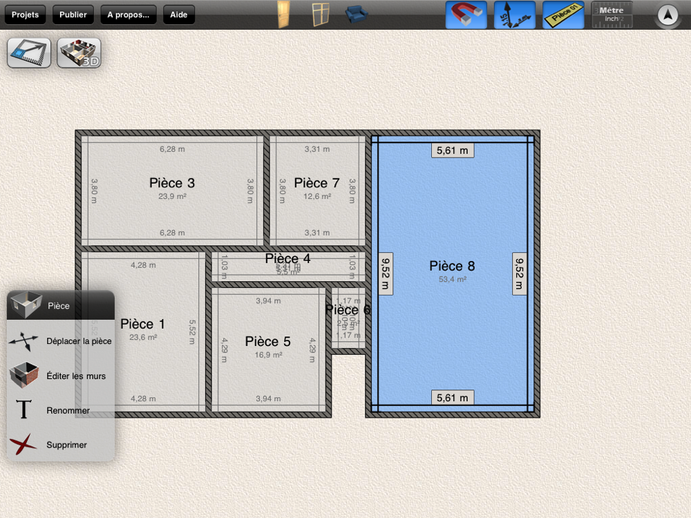Plans de maison 3d faciles sur ipad maison et domotique for Plan 2d gratuit