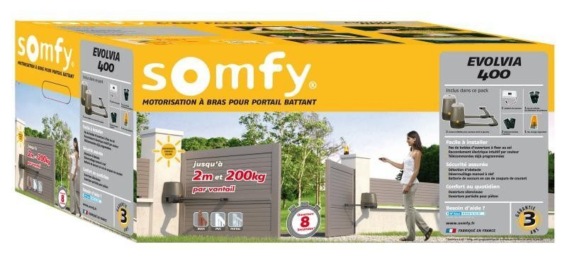 somfy motoriser son portail maison et domotique. Black Bedroom Furniture Sets. Home Design Ideas