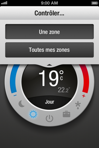 MYFOX THERMOSTAT ZONE