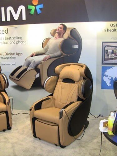 osim udrive chair ces2013
