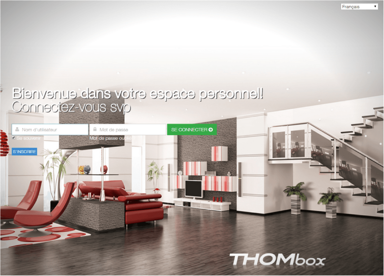 maison connect e thomson une nouvelle interface utilisateurs maison et domotique. Black Bedroom Furniture Sets. Home Design Ideas