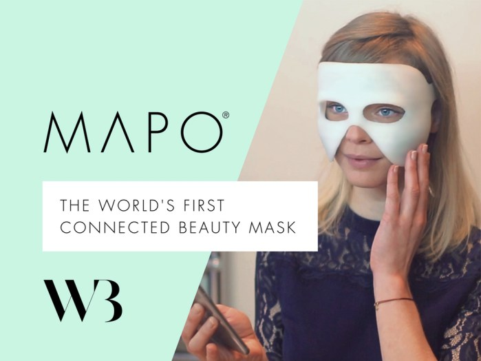 MAPO masque de beauté connecté Wired Beauty