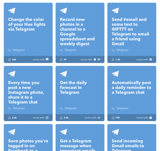 telegram_ifttt