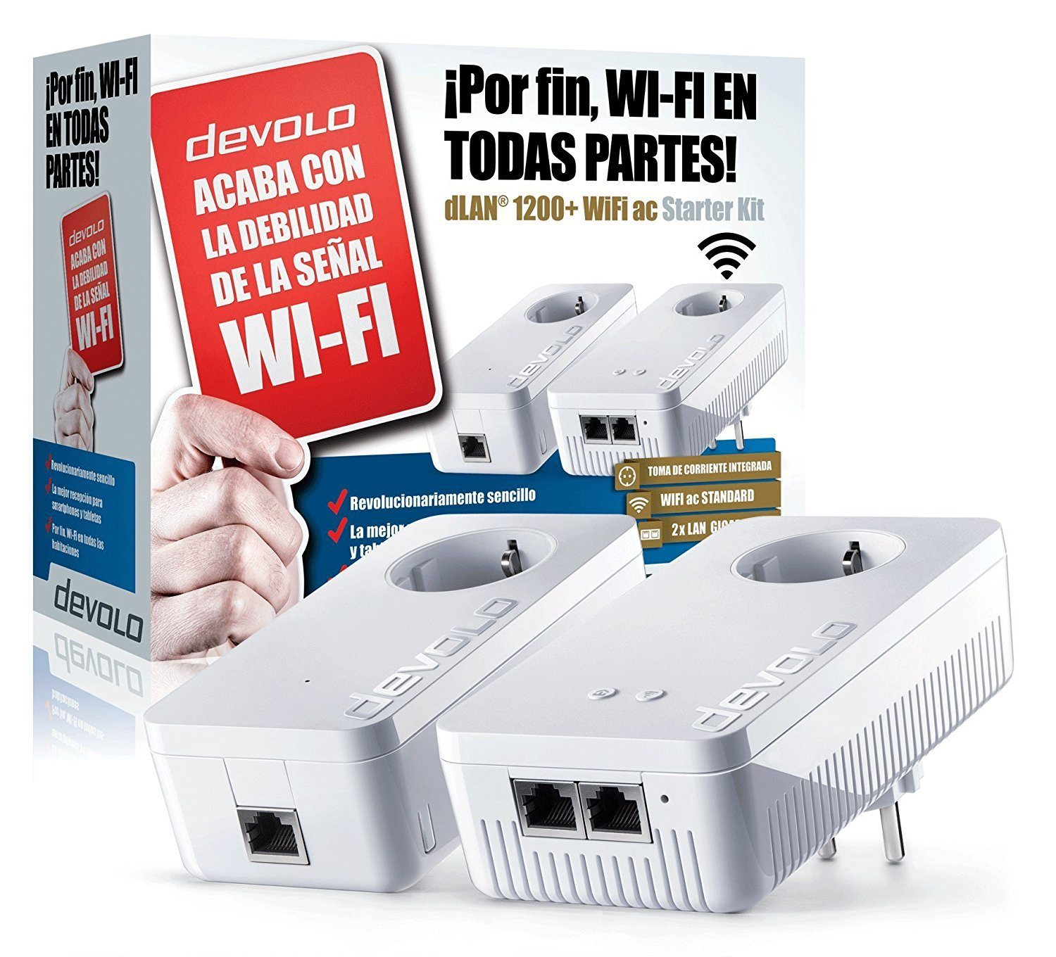 test du kit cpl devolo dlan 1200 wifi ac maison et domotique. Black Bedroom Furniture Sets. Home Design Ideas