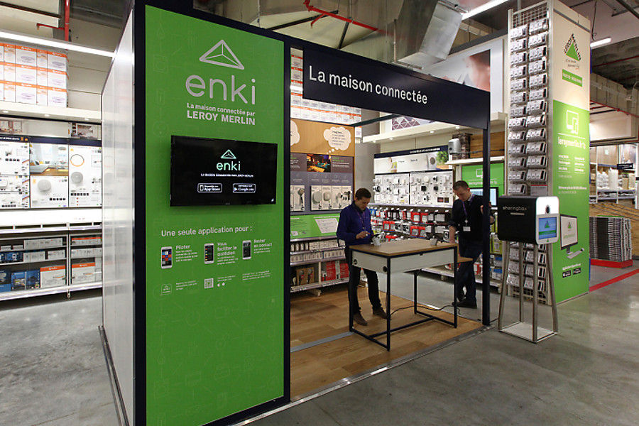 Leroy merlin veut rendre la maison intelligente avec enki - Magasin leroy merlin en france ...
