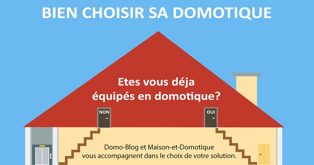 infographie bien choisir sa solution domotique maison et domotique. Black Bedroom Furniture Sets. Home Design Ideas