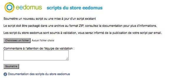ouverture store eedomus 3