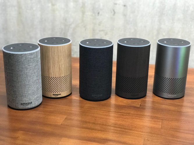 new amazon echo colors
