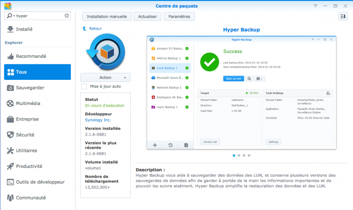 synology replication 45