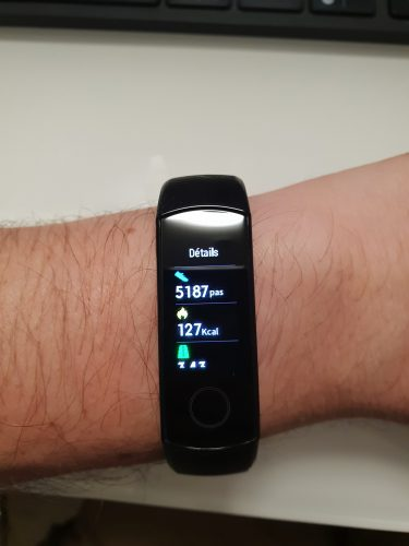 test huawei honor band 4 10