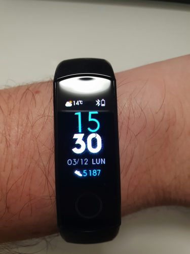 test huawei honor band 4 8