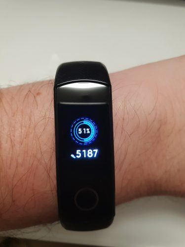 test huawei honor band 4 9