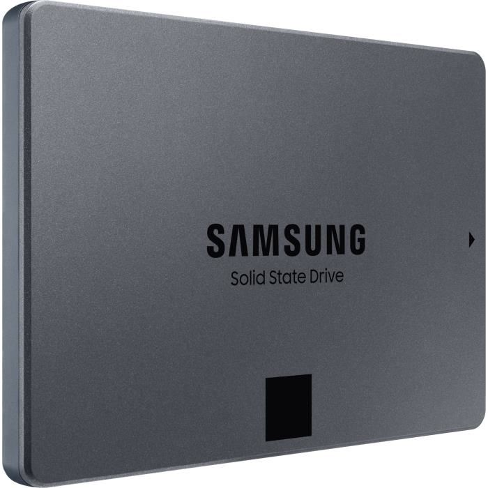 "SAMSUNG - Disque SSD Interne - 860 QVO - 1To - 2,5"" (MZ-76Q1T0BW)"