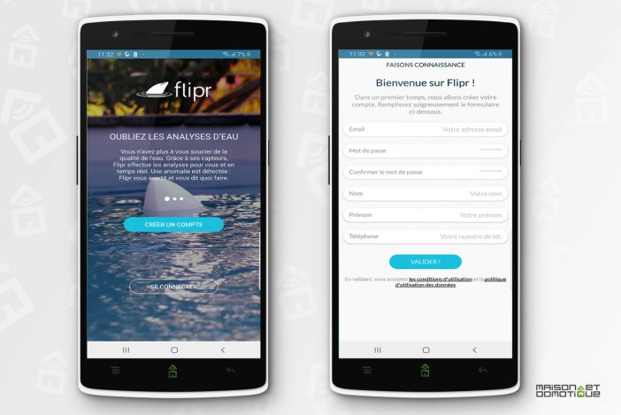 flipr test piscine 16