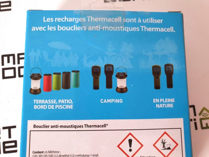 thermacell anti moustiques camping 15
