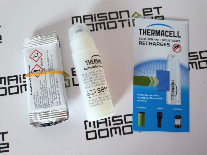 thermacell anti moustiques camping 16