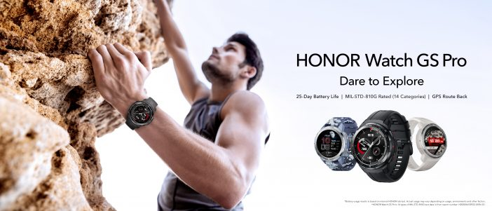 honor watch gs pro 7