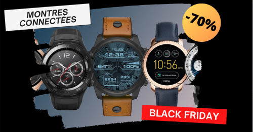 black friday montres connectees