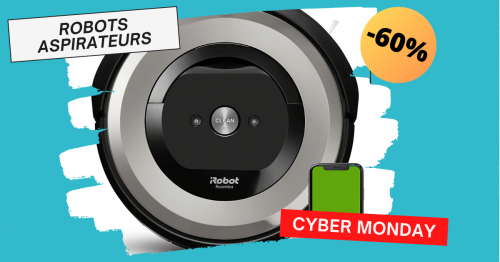 cyber monday robots aspirateurs