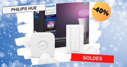 soldes philips hue