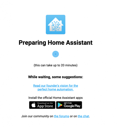 accueil home assistant