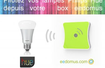 eedomus supporte officiellement les ampoules Philips Hue