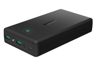 Batterie Portable 30000mAh AUKEY  – Micro Usb, Lightning, Recharge rapide