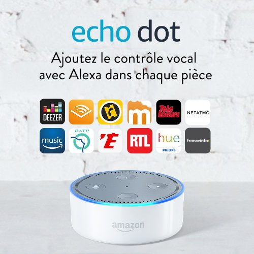 bonplandujour assistant vocal amazon echo dot 2eme g n ration moins de 20 maison et. Black Bedroom Furniture Sets. Home Design Ideas