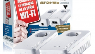 Test du Kit CPL Devolo dLAN 1200+ Wifi ac