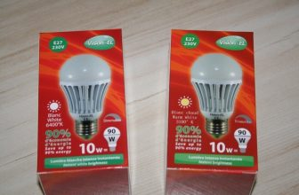 Test: Ampoule Led dimmable