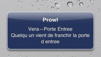 Prowl et les notifications Push