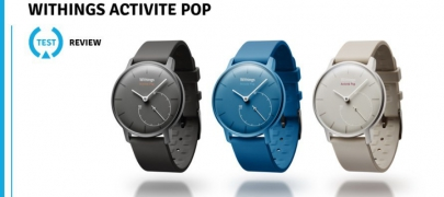 Test de la montre Activité Pop de Withings, une smartwatch sans prétentions !