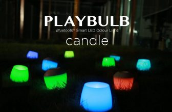 Test d'une bougie connectée bluetooth: la PlayBulb Candle