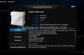 Plugin Zipabox pour XBMC