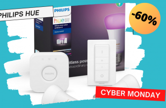 Philips Hue à -60% pour le #CYBERMONDAY !