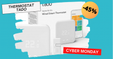 Thermostat connecté Tado à -45% #CYBERMONDAY !!