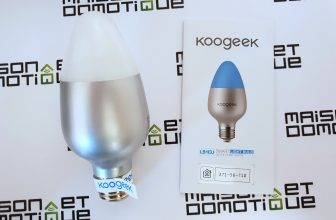 Koogeek Smart Light Bulb: test de l'ampoule Wifi compatible Homekit