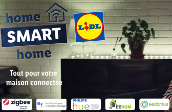 Test Lidl Smart Home: compatible Philips Hue, Jeedom, eedomus, Smart Life, etc. à partir de 7,99€ !