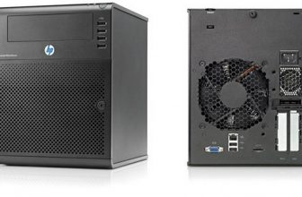 Test et installation du HP Micro Server Proliant N40L