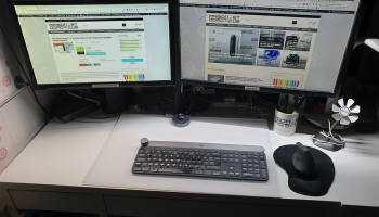 Test BenQ Screenbar e-reading: la lampe de bureau qui ne prend pas de place !