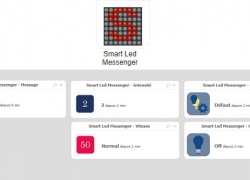 Smart Led Messenger a son plugin sur le store Eedomus