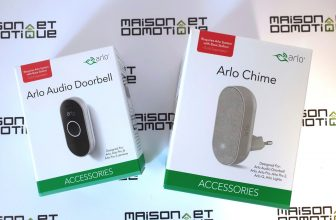 Test de la sonnette connectée Arlo Audio Doorbell