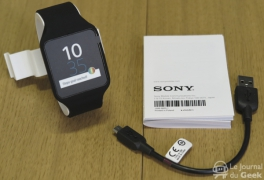 Test : Sony Mobile SmartWatch 3