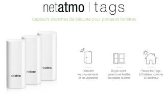 Welcome de Netatmo: tags anti effraction et export vers Dropbox disponibles