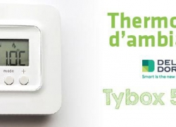 Thermostat d'ambiance filaire Tybox 5000